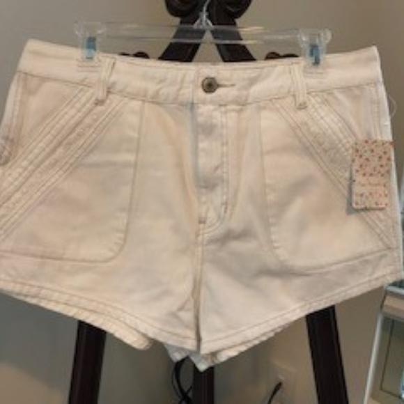 Free People Pants - Free People women's white shorts